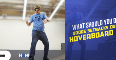 What should you do to dodge setbacks during a hoverboard ride!