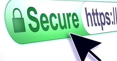 Secure through https