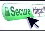 Secure through https
